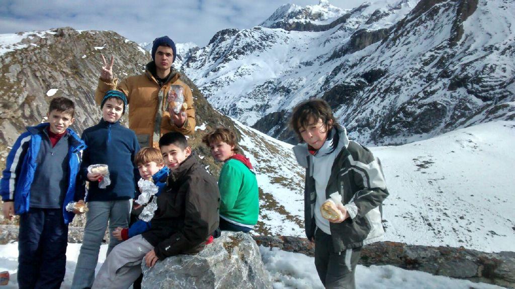 Fotos excursión a la nieve a Formigal