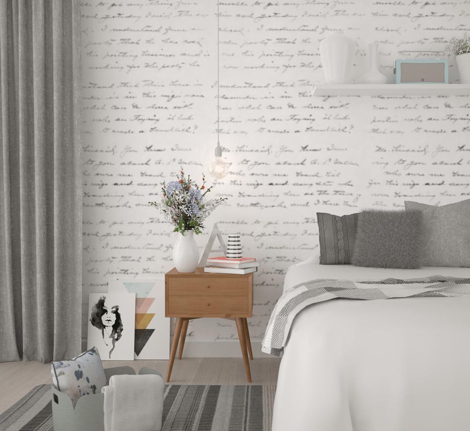 3d Brick Wallpaper White Interior Design Anita Brown 3d Visualisation