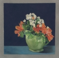 <h5>Alstroemeria with Green Pitcher</h5><p>Pastel   </p>