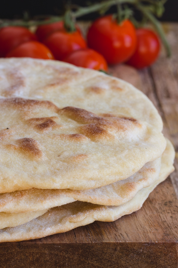 La Piadina Italian Flatbread Sandwich - No yeast quick and easy