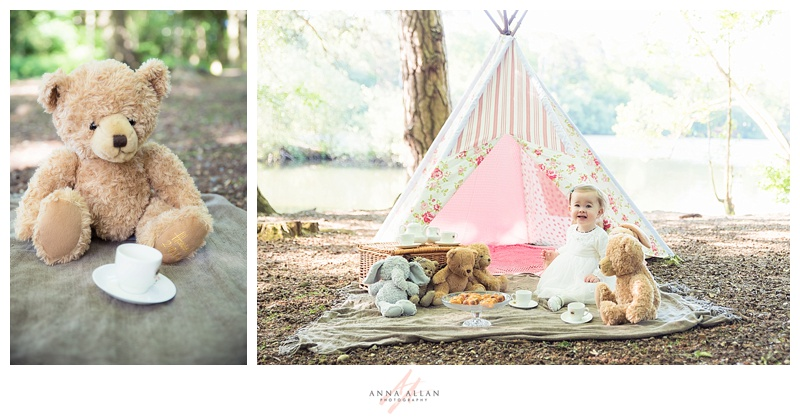 Newborn Baby Girl Wallpaper The Teddy Bear S Picnic A First Birthday Photo Shoot