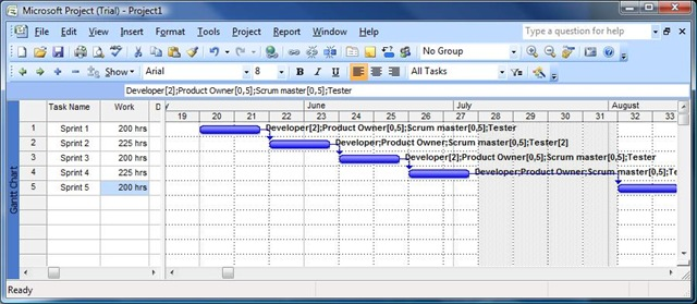 Microsoft Project Tutorial Part 22 \u2013 Planning an agile project