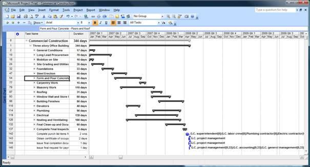 Excel Project Plan Template Project Management Templates Clipimage008
