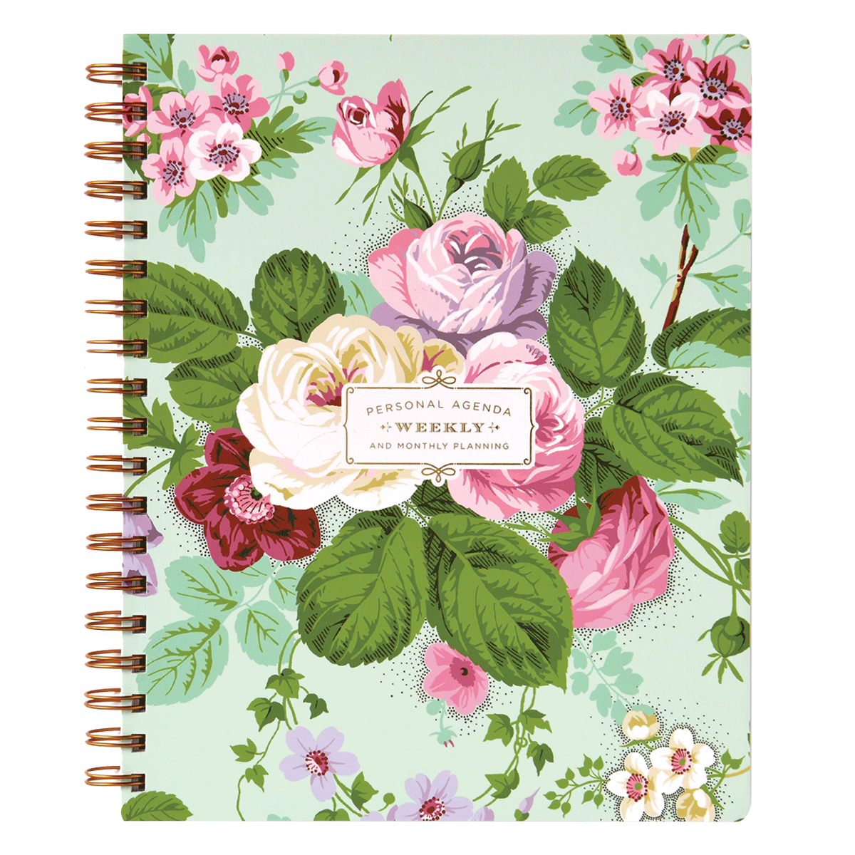 Wholesale Jewelry Rolls Amelie Floral Weekly Agenda Day Planner Anna Griffin