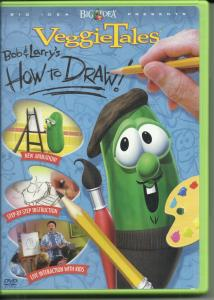 Veggie Tales How to Draw DVD cover