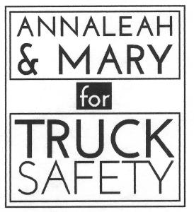 LOGO AnnaLeah & Mary for Truck Safety