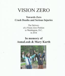 Vision Zero Petition Book Cover draft