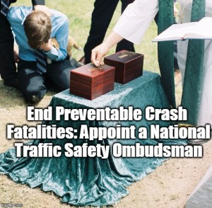 Traffic Safety Ombudsman Petition