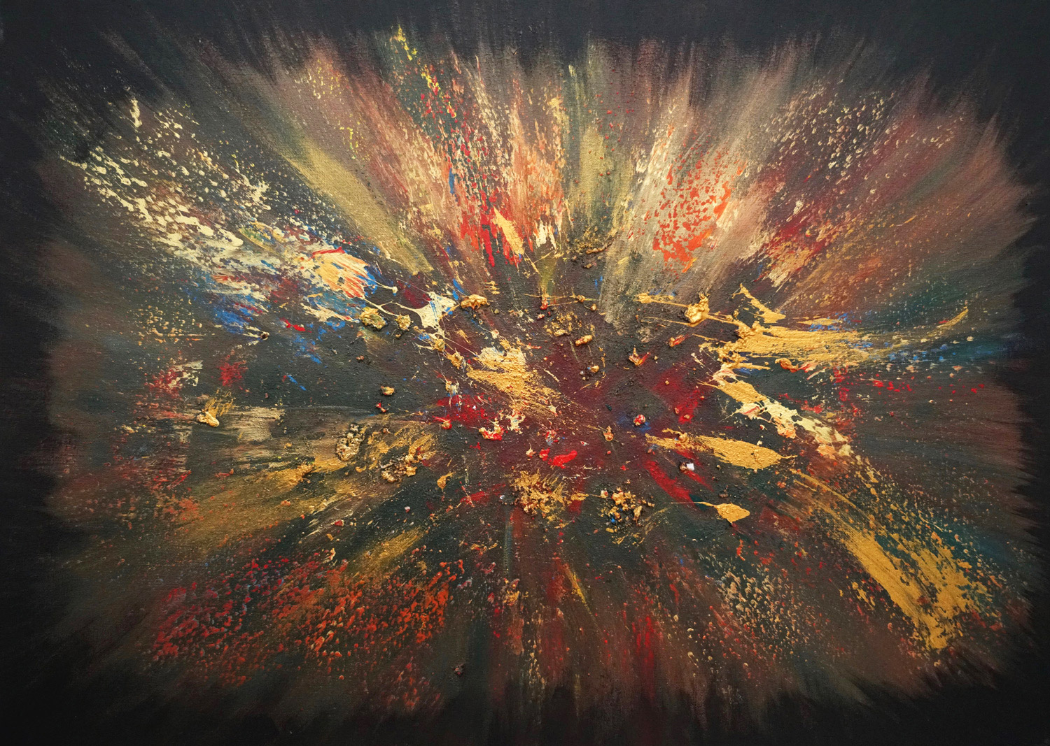Werke Kunst Modern Art Abstract Painting Berlin Anna Schiller Art