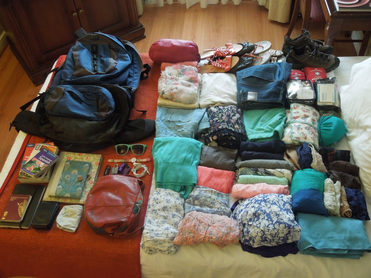 Packing list for three months in South America: what to bring and what not to bring