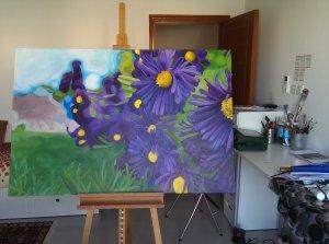 Carrie Brummer's studio