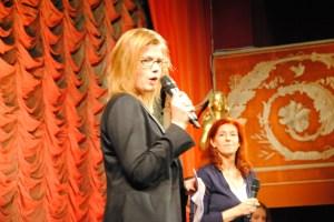 Jag invigningstalar på Juniorfestivalen 2013.