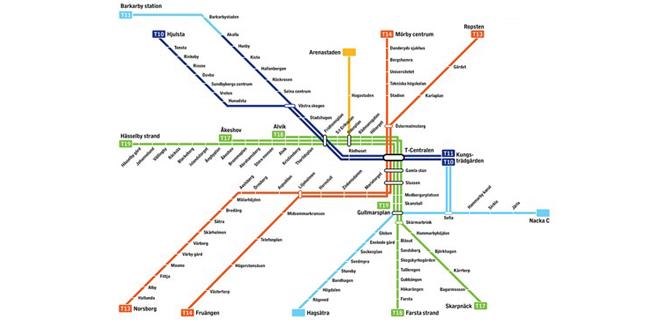 Stockholms nya tunnelbana