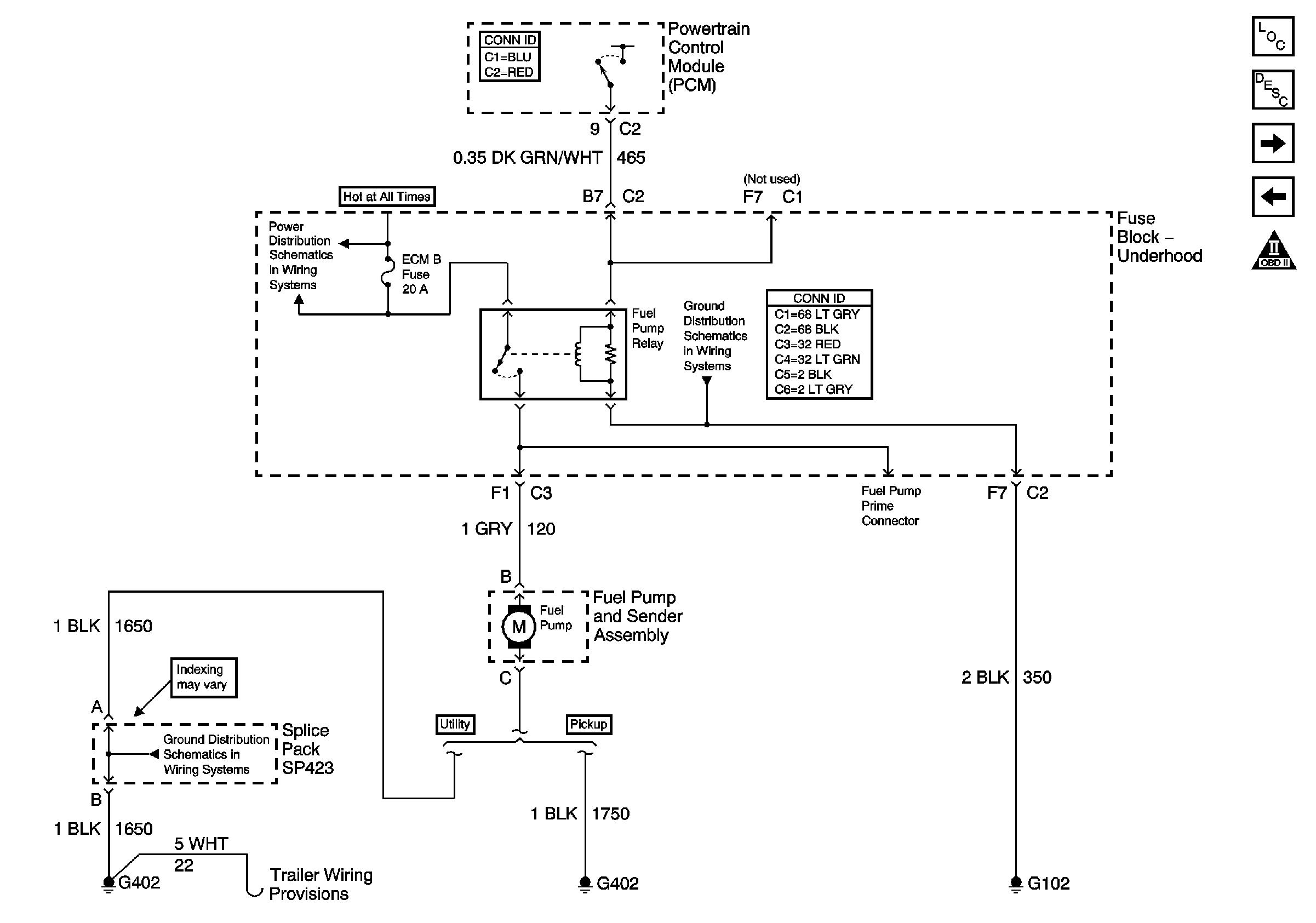 2003 Chevy Silverado Fuel Pump Wiring Diagram