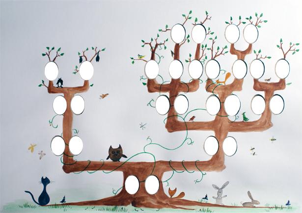 cv original avec arbre