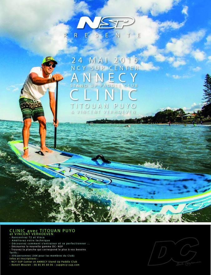 Clinic Annecy Titouan Puyo et Vincent Verhoeven