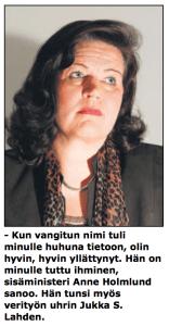 Anne Holmlund ja Ulvilan murha