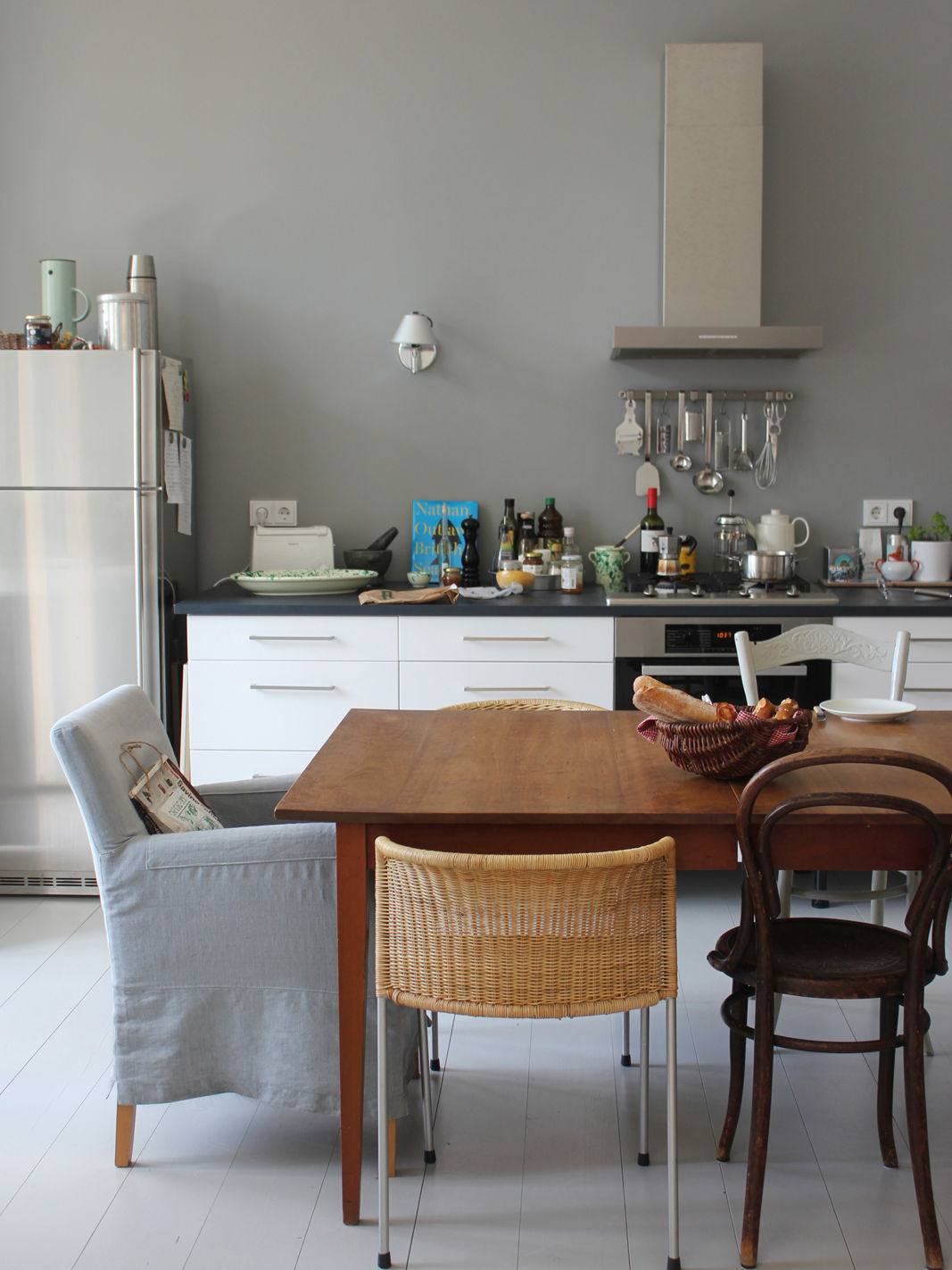 Houzz Küche Altbau An Art Historian Home Anneliwest Berlin