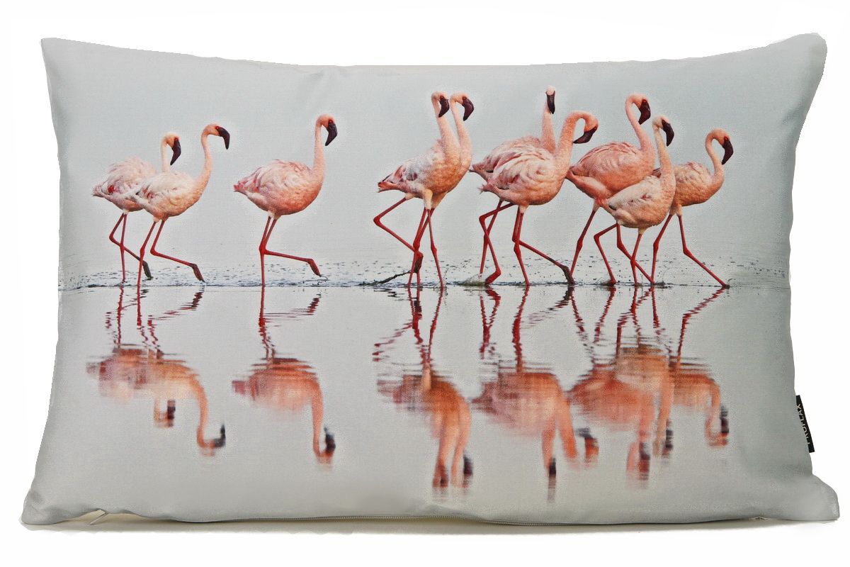 Küchentücher Flamingo Flamenco Digitaldruck Flamingos Rosado Kissenhülle 30x50cm