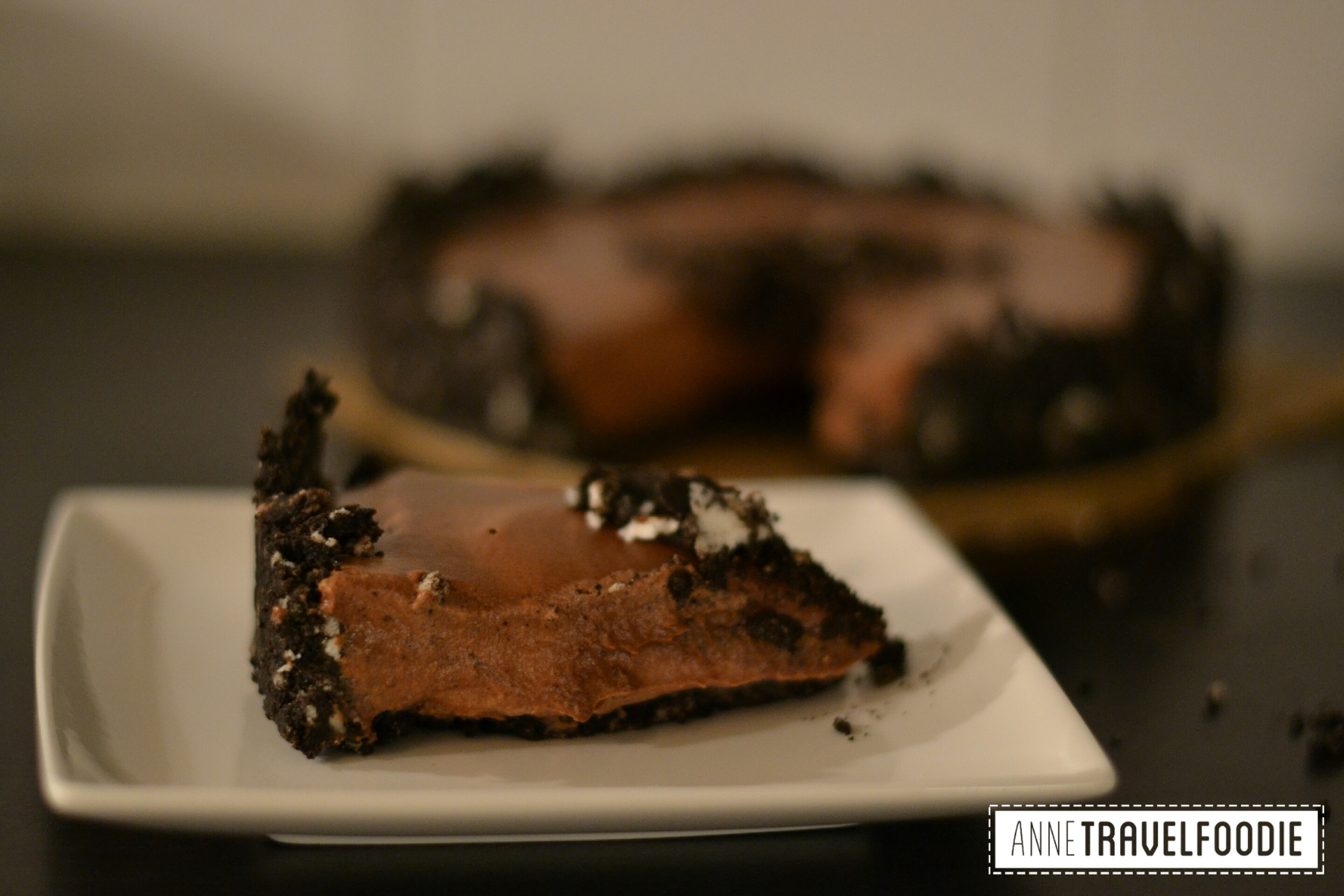 Oreo Kuchen Vegan Vegan Oreo Pie Anne Travel Foodie