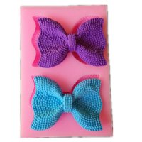 2-bows-Butterfly-cooking-tools-christmas-wedding-decoration-Silicone-Mould-Fondant-Sugar-Bow-Craft-Molds-DIY