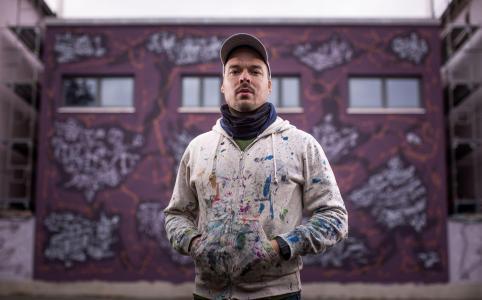 Jens Besser, Street Art Künstler aus Dresden
