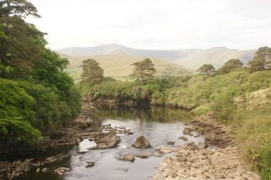 Irish Waterfall in County Connemara Ireland by Tim Anderson