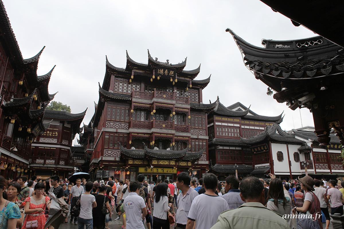 Shanghai la vieille ville for Jardin yu shanghai