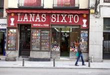 Les jolies devantures des boutiques à Madrid