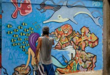 Street art et graph à Rio