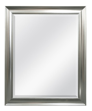 Target Threshold Beaded Silver Wall Mirror - $39.99