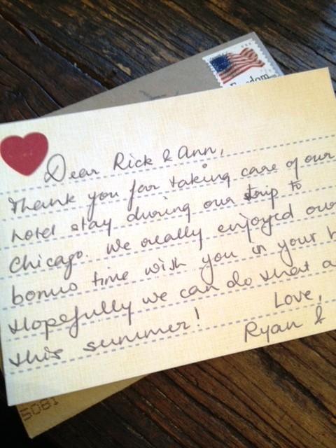 thank you « Ann Written Notes