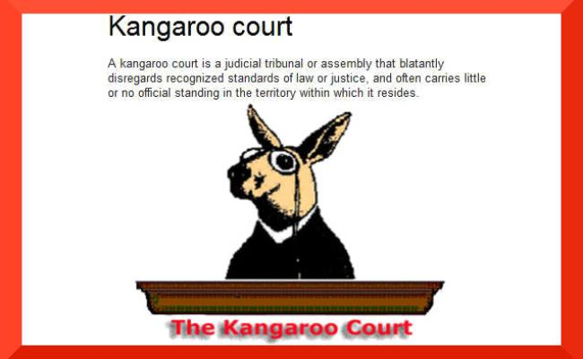 The Kangaroo Court Of Australia