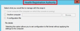 Health Registration Authority