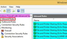 Windows Firewall Rule 22
