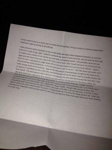 Apology Letter Photo 2