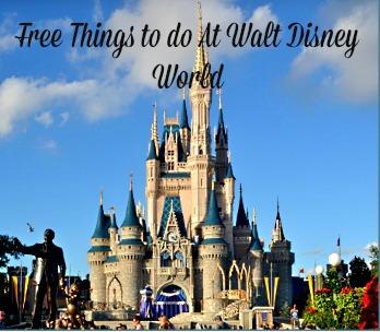 Free Activities Walt Disney World