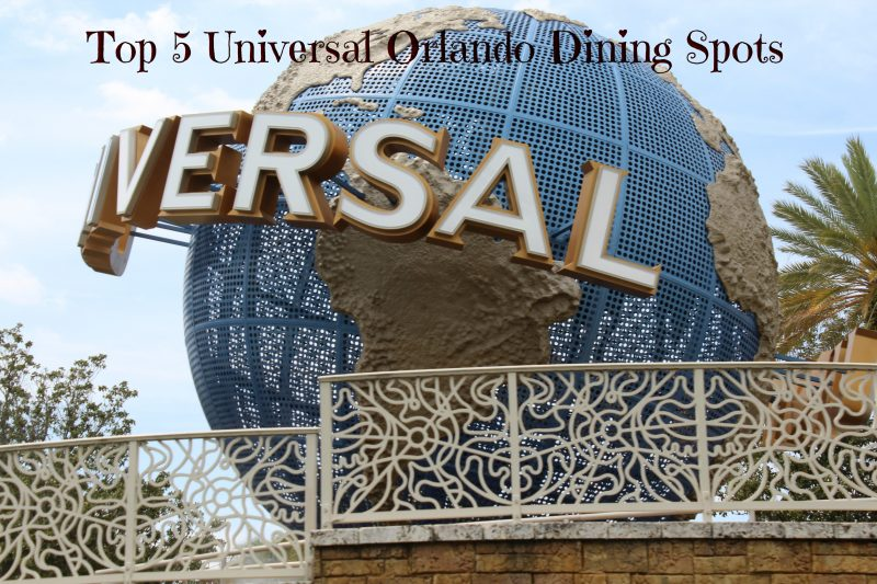 Universal Orlando Dining Spots