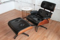 Mid-Century Modern Charlton Lounge Chair and Ottoman | An ...