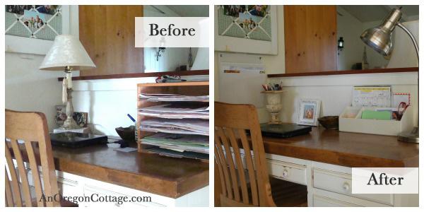 organized kitchen desk oregon cottage kitchen organization ideas thethavenue simple ways