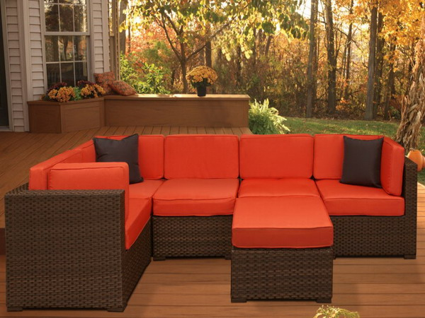 Piece Deep Seating Patio Furniture Source State Homes Com