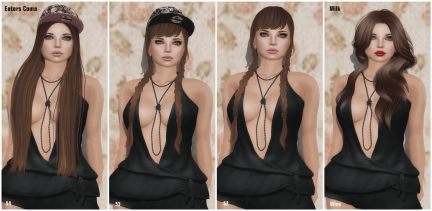 Eaters Coma & Milk 2014 Hair Fair~