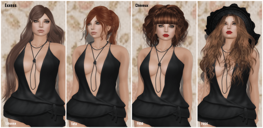 Exxess & Cheveux 2014 Hair Fair ~