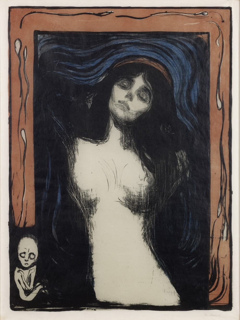 Munch Cuadros Edvard Munch A Genius Of Printmaking Another