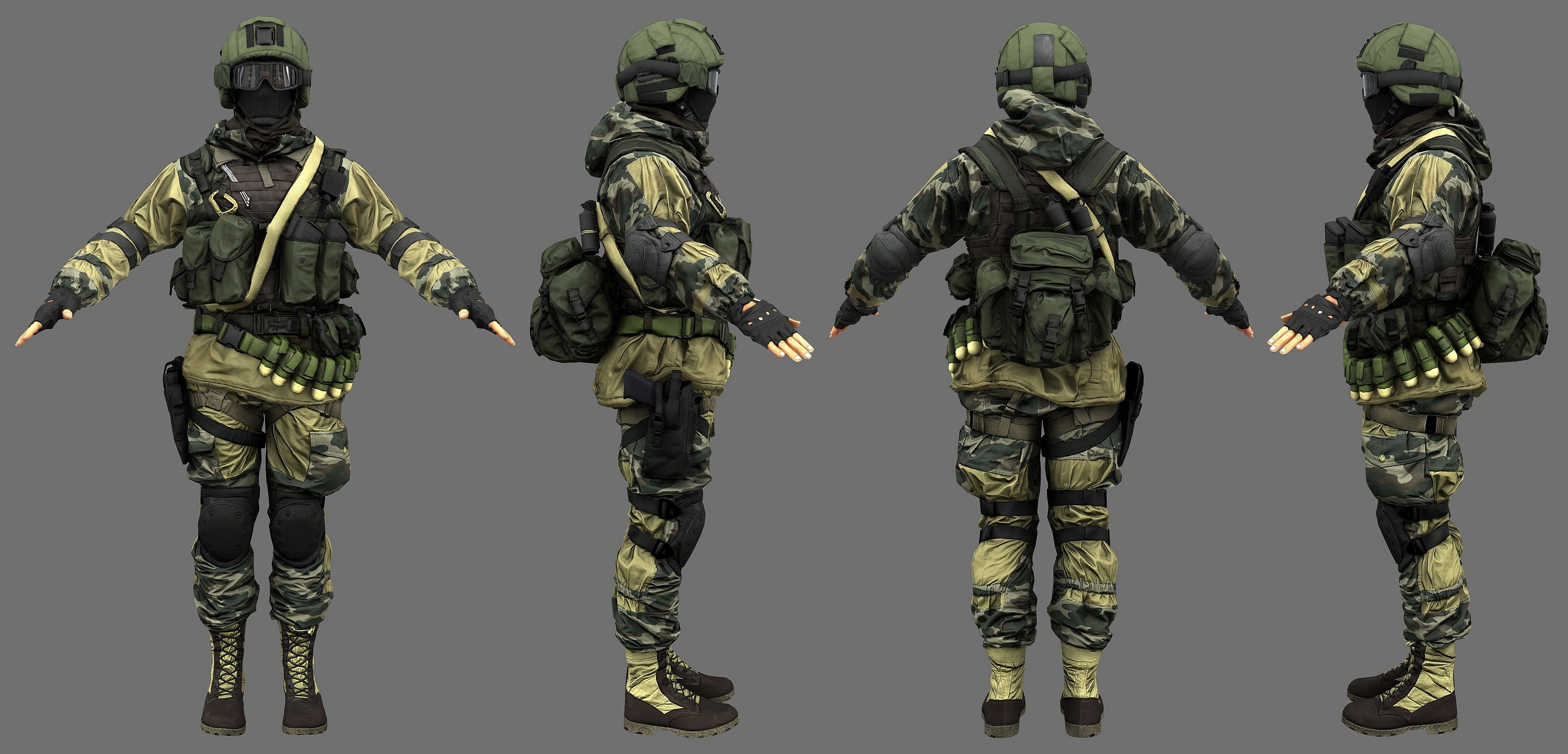 Mw3 3d Wallpapers What Is The Russian Assault Class Character S Model Gear