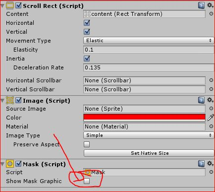 uGUI,How to make Scroll Rect backgroudn Transparent? - Unity Answers - how to make a picture transparent