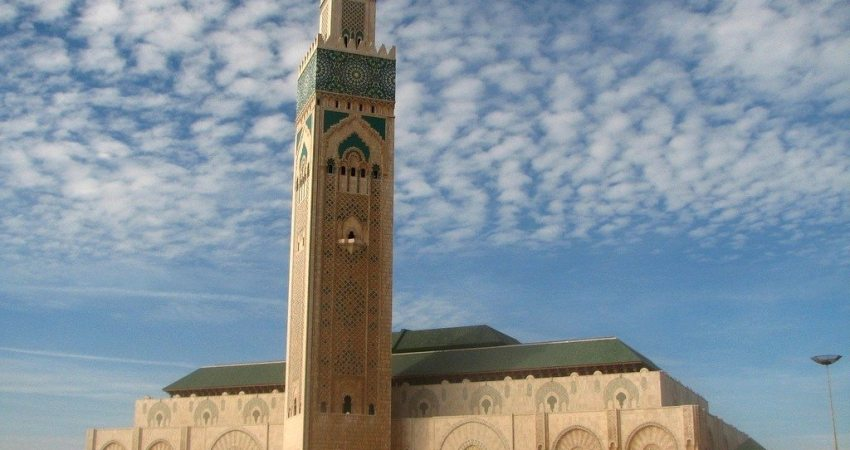 Hassan-II-Mosque - Africa's tallest buildings