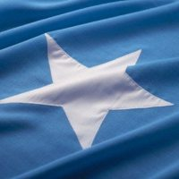 close-up of the flag of somalia
