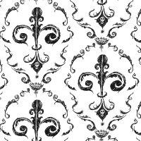 Black Victorian Pattern | Patterns Gallery