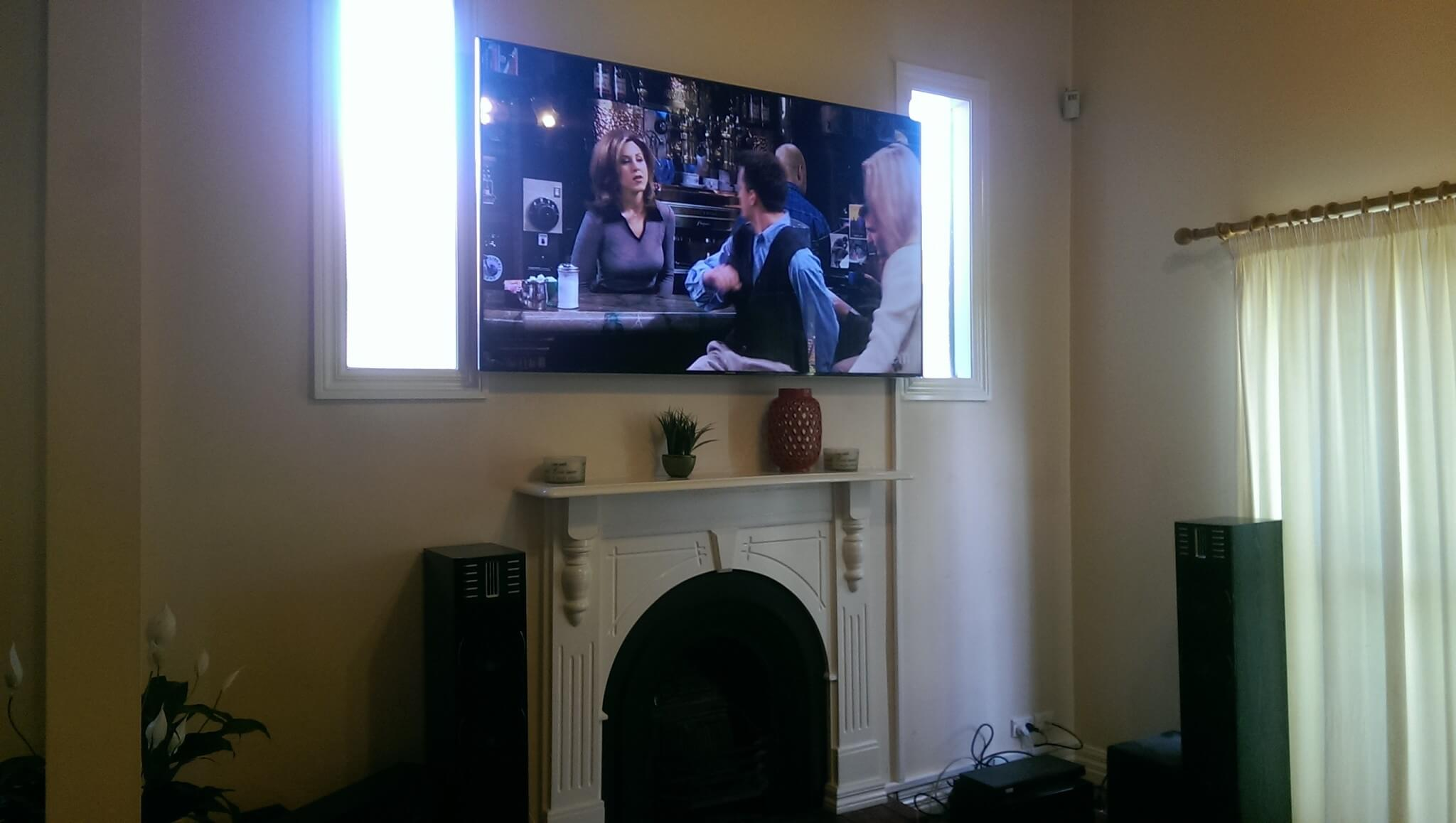 Tv Installation Melbourne Is It Safe To Install A Tv Above A Fireplace Antennify